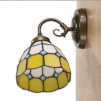 Hony Tiffany Style Applique Murale Mediterraneenne Simple Decoration