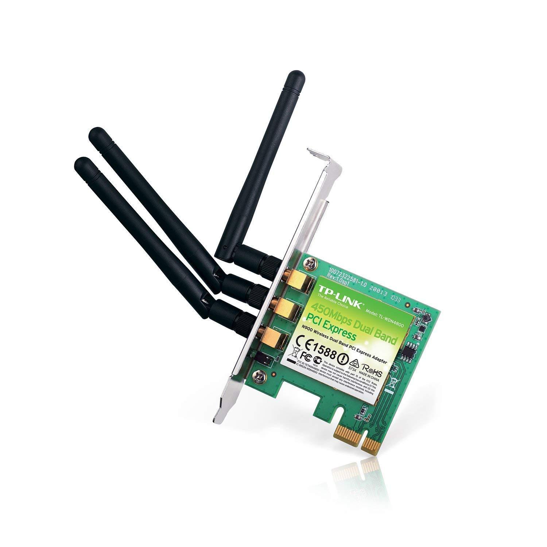 TP-LINK TL-WDN4800 - Tarjeta de Red PCI Express N900 (WiFi, 2.4 G ...