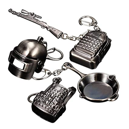 Amazon.com : Umiwe for Pubg Keychain Set, Pubg Level 3 ...