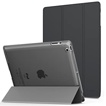 MoKo Case Fit iPad 2/3/4 - Ultra Lightweight Slim Smart Shell Stand Cover with Translucent Frosted Back Protector Fit iPad 2/The New iPad 3 (3rd ...