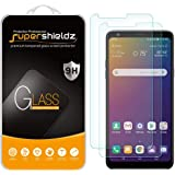 (2 Pack) Supershieldz for LG Stylo 5 / Stylo 5 Plus and Stylo 5X Tempered Glass Screen Protector, Anti Scratch, Bubble…