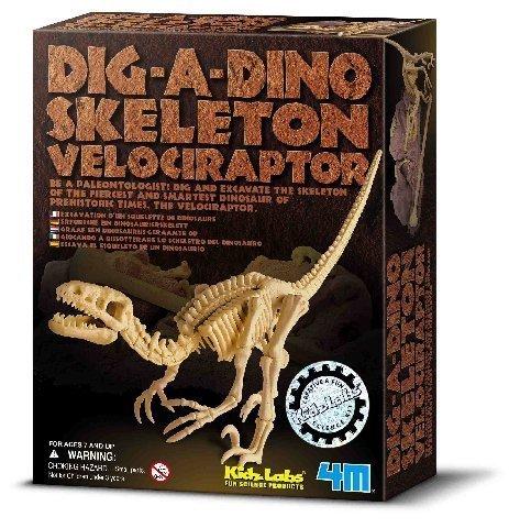 Dig A Dino (Velociraptor) by 4M