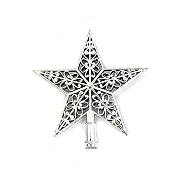 xmas decorations clearance salelibermall xmas decoration ornament treetop topper christmas tree top sparkle stars