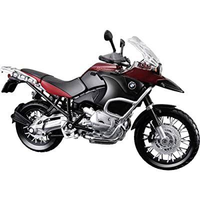 Maisto 31157 Model Motorcycle BMW R 1200 GS/ 2007 Model/ 1: 12 Scale Assorted Colours by: Toys & Games