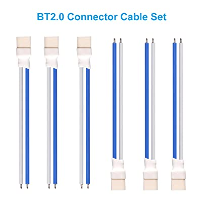 BETAFPV 6pcs BT2.0 Connector 55mm 22AWG FPV Male Cable for for Meteor65 FPV 1S TinyWhoop Drone Blade Inductrix: Home Audio & Theater