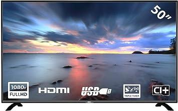 HKC 50F2 TV (50 Pulgadas Full-HD TV DVB-T/T2/S/S2/C)