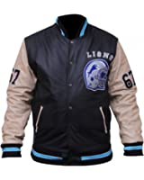 CHICAGO-FASHIONS Beverly Hills Cop Eddie Murphy Baseball Letterman Synthetic Leather Jacket