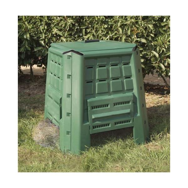 Art Plast BC380 Bio Composter in plastica, Verde 2 spesavip