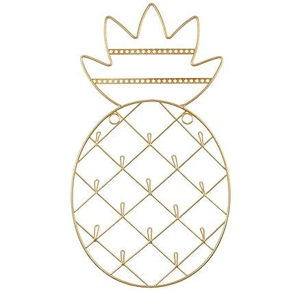 Support mural pour bijoux en forme d ananas doré  Amazon.fr  Cuisine    Maison 1d24f5a1a6fe