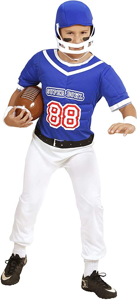 Partypackage Disfraz de Jugador de fútbol Americano para niños de ...