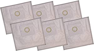 LHG 6-Pack Premium HEPA-Style Bags - Type Z for Simplicity or Riccar Jack and Jill and Sunburst, Moonlight, Pizzaz and Bank Mint and Robber