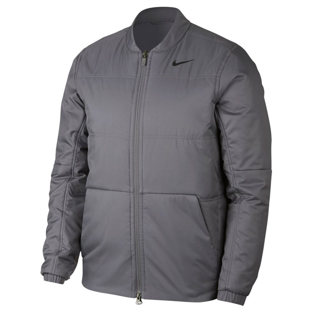 Nike Synthetic Fill Core Golf Jacket 2019 Gunsmoke/Black Medium by Nike