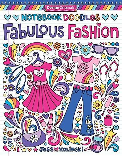 Notebook Doodles Fabulous Coloring Activity product image