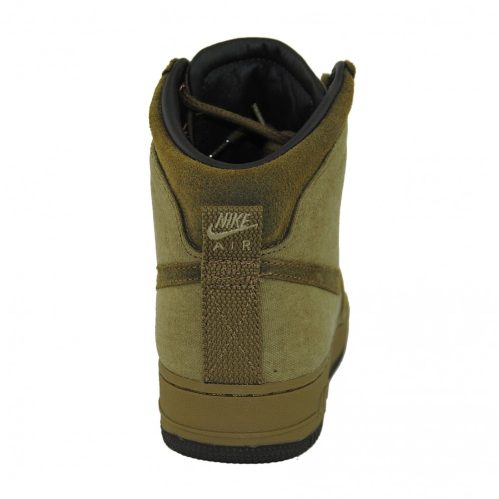 on sale 53f1b cec93 ... NIKE Air Force 1 Hi DCN Military Boot in Raw Umber (Brown) 8.5uk ...