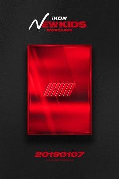 IKON [NEW KIDS REPACKAGE:THE NEW KIDS] Album RANDOM CD+POSTER+Photo  Book+Card+Tracking Number K-POP SEALED