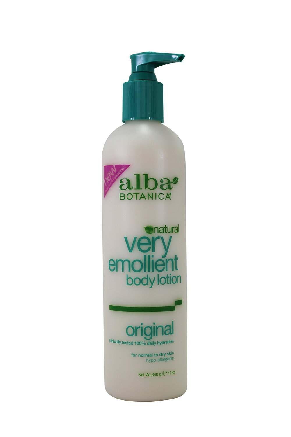Body Lotion (Very Emollient)-Scented Alba Botanica 12 oz Lotion