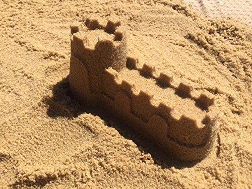 Jurassic Sands Golden Cambrian Beach Sand Play Sand - 50 Pound Sandbox Sand by Jurassic Sands (Image #2)