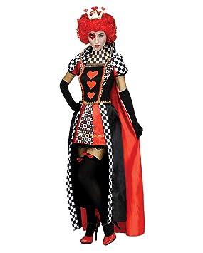 Horror-Shop Reina de corazones de vestuario M/L