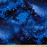 Timeless Treasures Space Galaxy Fabric By The Yard