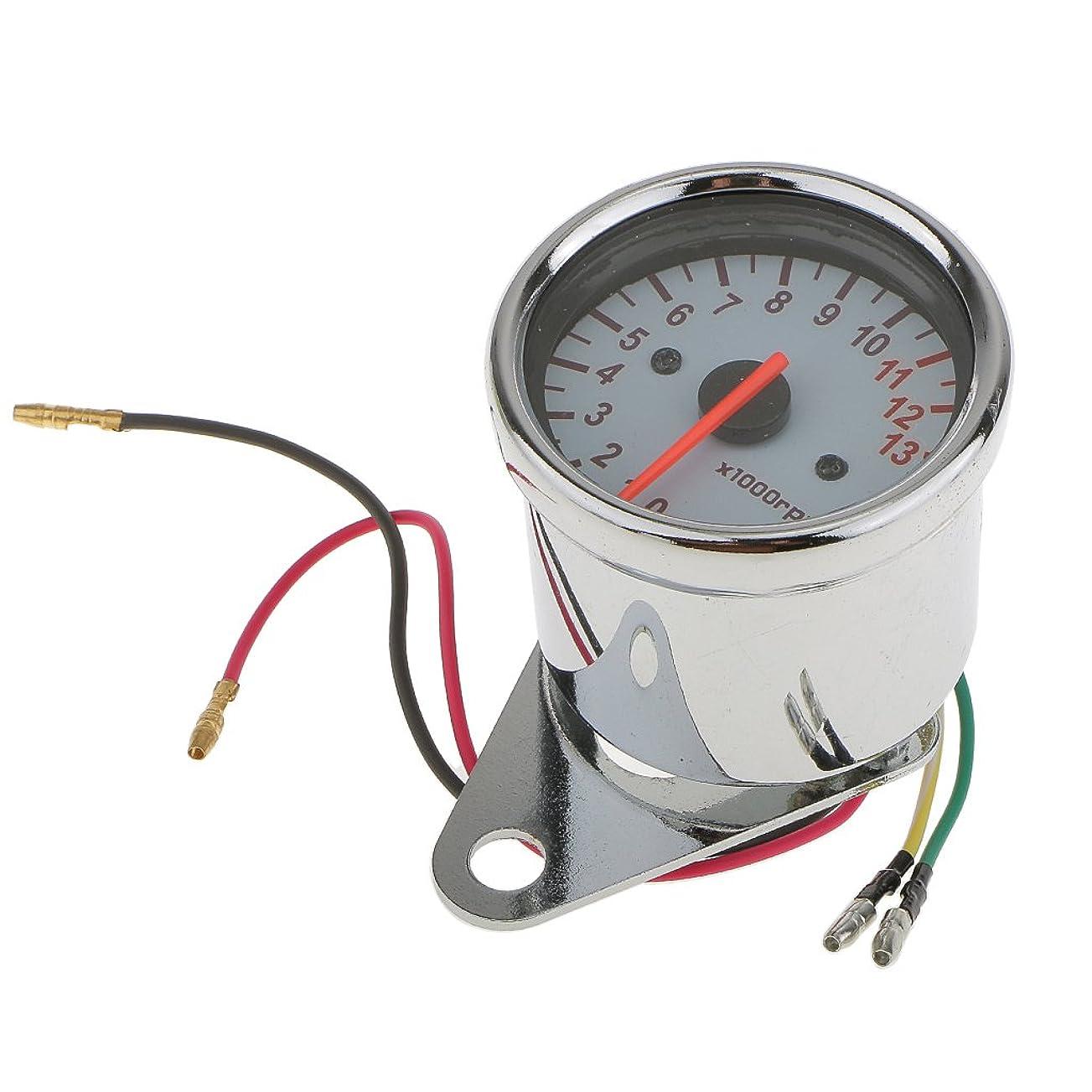 病んでいるドライブ飼い慣らすKOSO バイク用防水コンパクトデジタルタコメーター (ピークホールド機能内蔵)電気式 Mini4-RPM