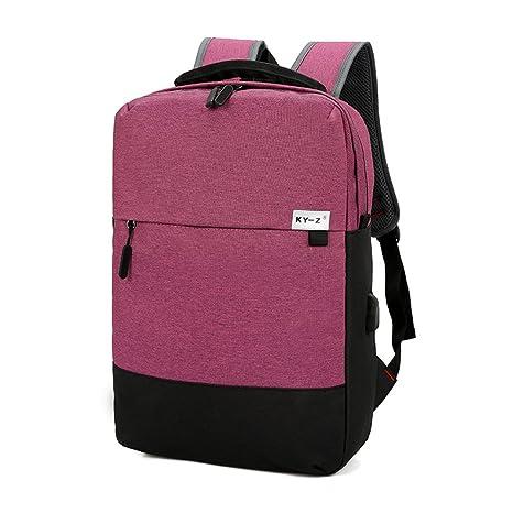 tclothing 15.6 pulgadas Gamuza Oxford bolso ordenador portátil Casual Transpirable Daypack Ultralight mochilas para PC portátil