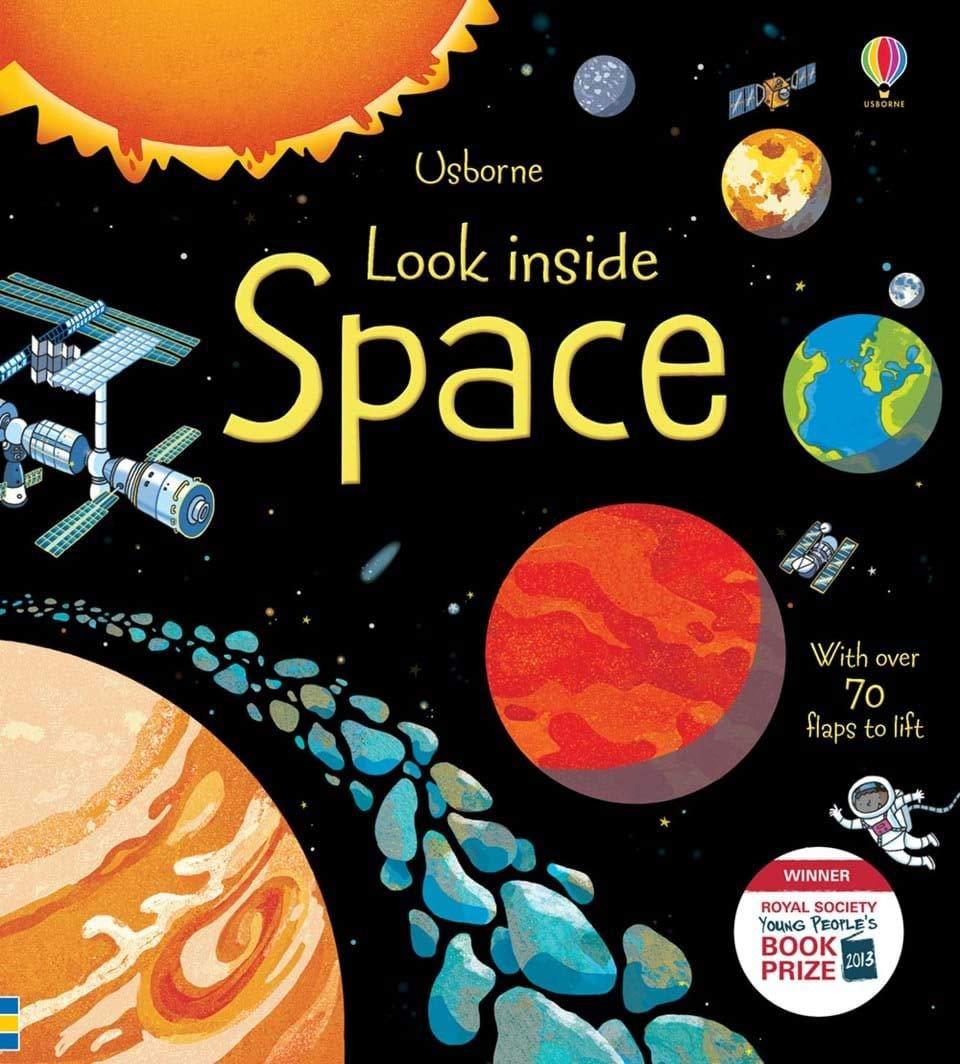 Look Inside: Space (Look Inside): 1 (Look Inside Board Books ...