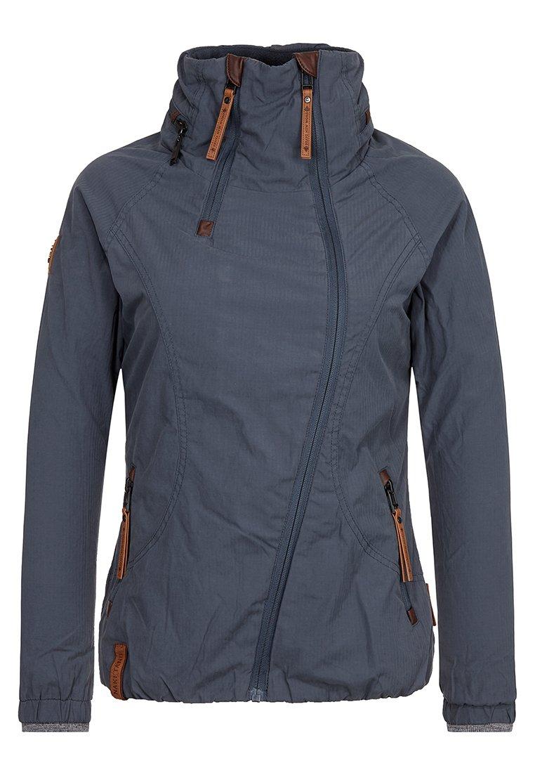 Naketano Women's Jacket Forrester Dark Bluegrey, L