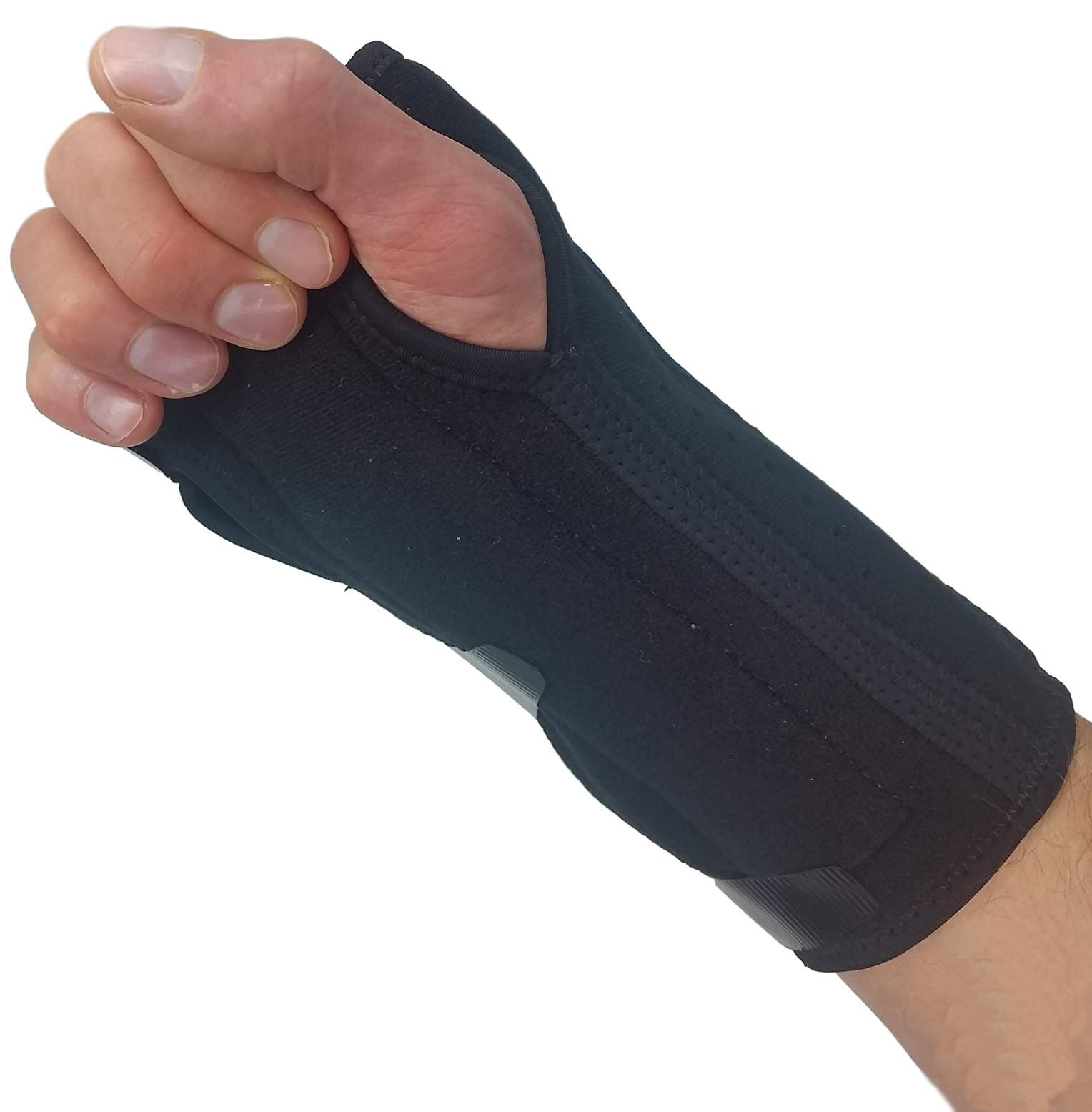 Carpal Tunnel Wrist Brace Night Support - New Padded Palm Design. Breathable Wrist Splint Stabilizer Hand Brace for Carpal Tunnel Syndrome Pain Relief Inner Compression Sleeve for Wrist Tendonitis