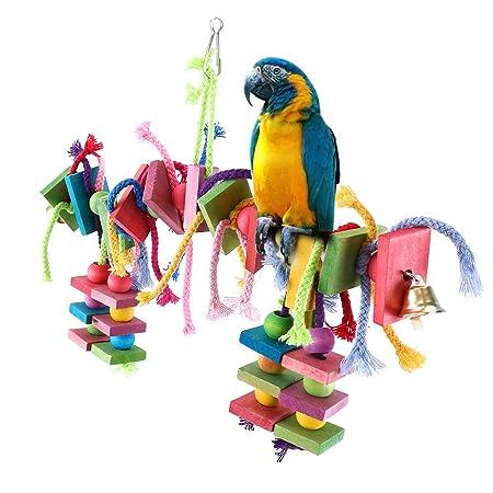 Littlegrass - Juguete para Masticar Pájaros con Diseño 100 ...