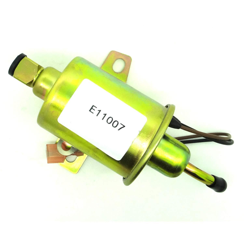 Electric Fuel Pump Replaces for Airtex E11007 A029F889 149-2311 149-2311-02 149-2311-01 149231101,Fit Onan 4000 4Kw Gas RV Cummins Generator Microlite MicroQuiet.