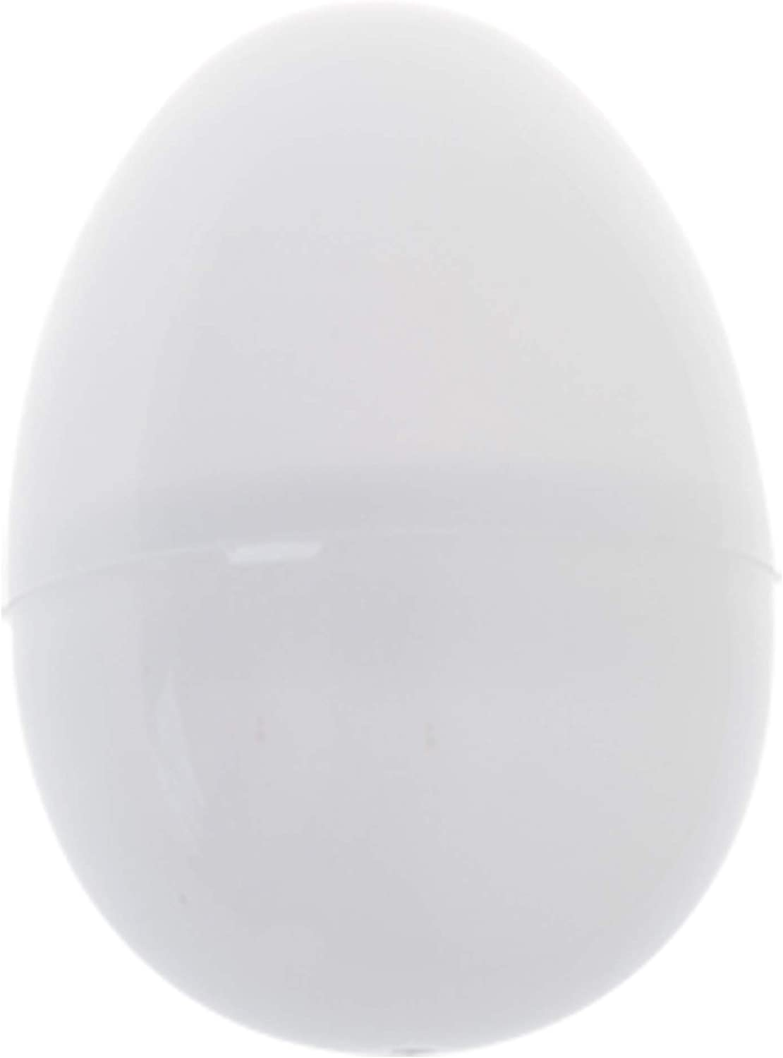 "BLUECELL 25pcs 2.25"" Blank White Plastic DIY Easter Eggs: Toys & Games"