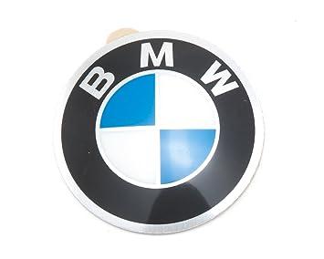 BMW - Insignia Emblema para llantas Llanta decorativo para 45 mm (36131181082): Amazon.es: Coche y moto