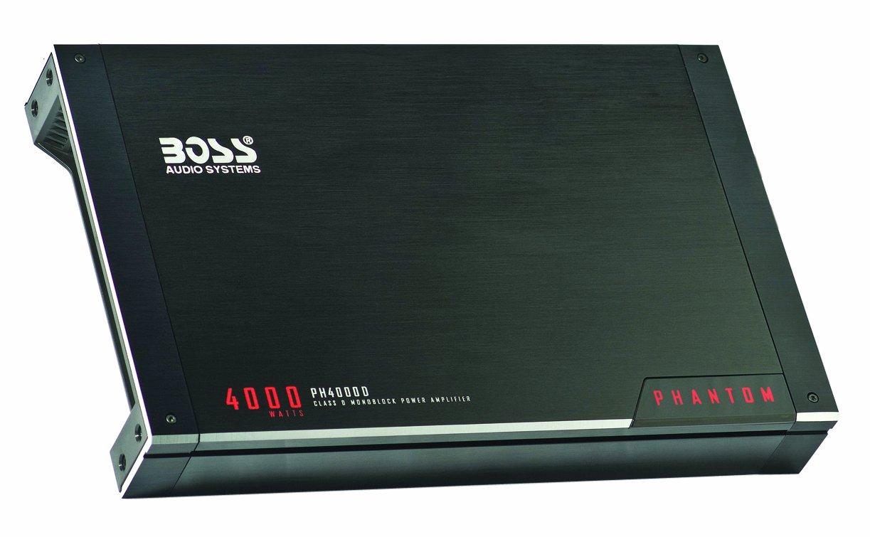 boss audio ph4000d 4000w phantom class d monoblock remote subwoofer rh amazon co uk Car Stereo Amp Wiring Diagram Bose Car Stereo Wiring Diagrams