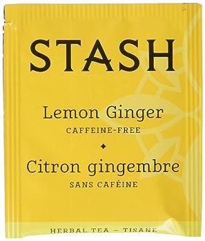 STASH 100 Bags Lemon Ginger Tea
