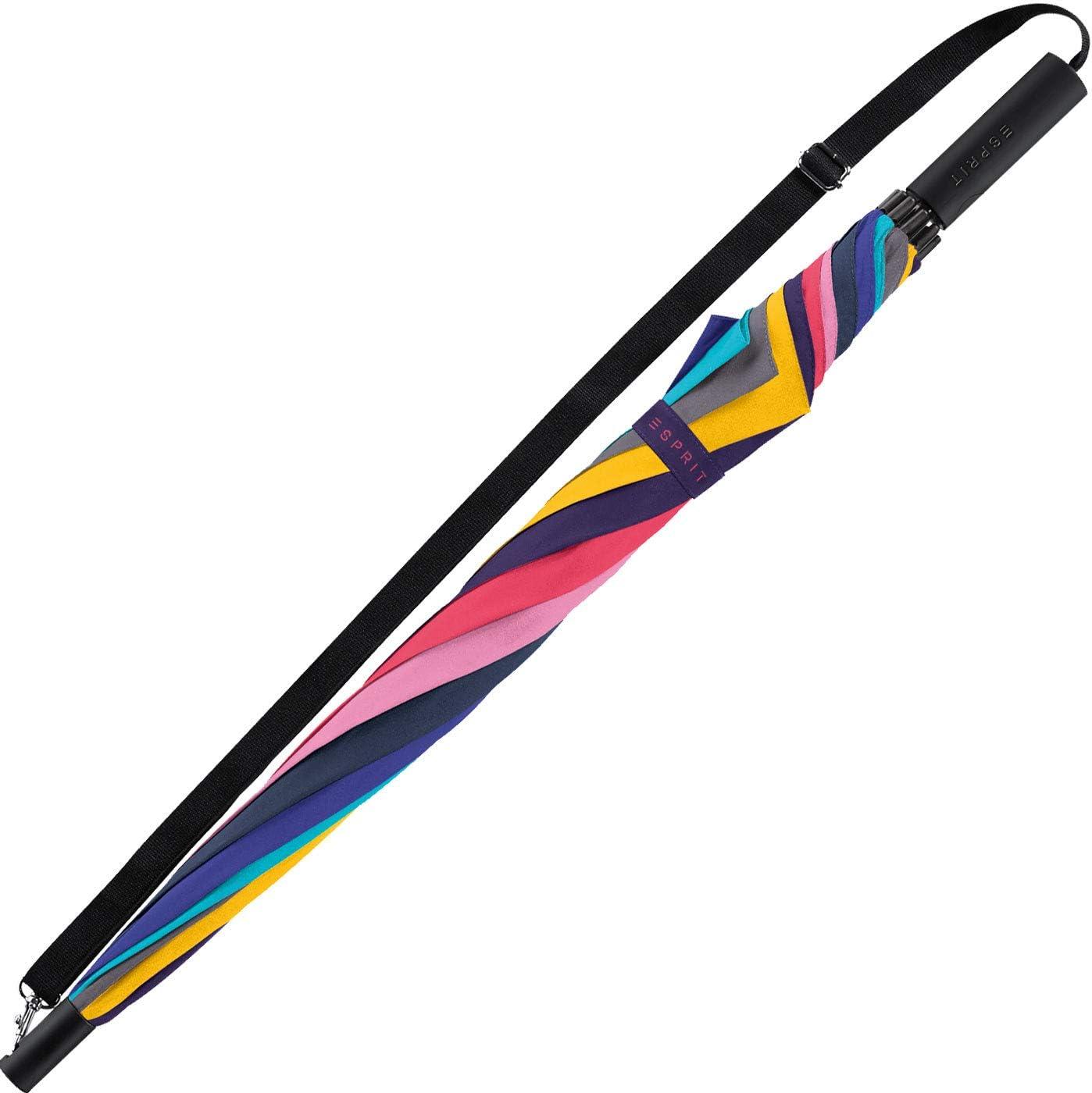 80 cm Multicolore Le Monde du Parapluie Esprit Parapluie Canne
