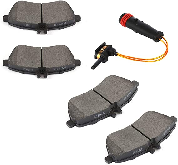 FINDAUTO Brake Sensors + Brake Pads
