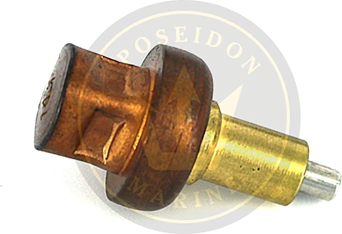 Thermostat for Johnson Evinrude 9.9 15 40 48 50 hp 2 str 143° 0436195 777837 18-0327, 18-3561