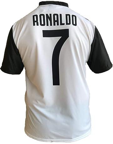 JUVE Camiseta de Fútbol Cristiano Ronaldo 7 CR7 Juventus F.C. Home  Temporada 2018-2019 Replica 6d01a3996e7
