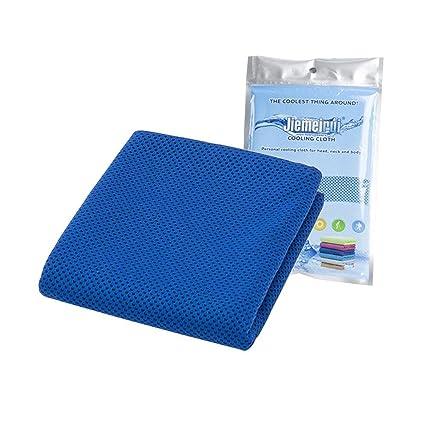 niceEshop(TM) Refrigeración Toalla,fitness Secado Rápido Toalla de Microfibra Instantánea Hielo Frío