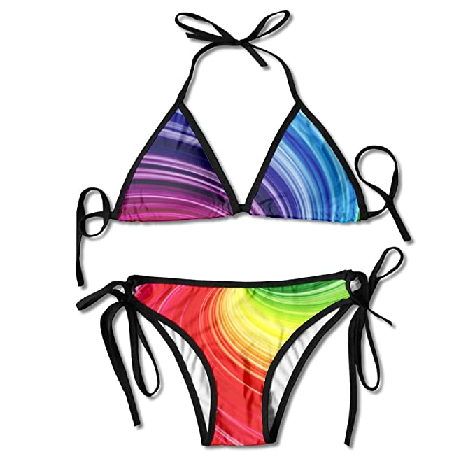 5ea5f9c12f Amazon.com: PIN Red Cube Cube World Swimsuits Bikinis Thong Swimsuit for  Beach Beach Swimming: Clothing