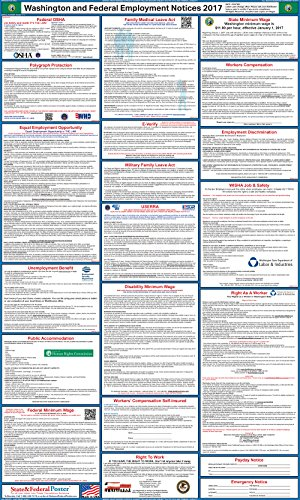 2017-washington-state-and-federal-labor-law-posters-laminated-24-x-40