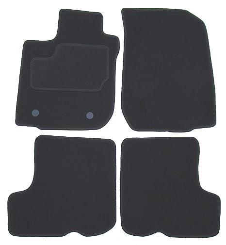 Velours Fußmatten Set für DACIA LOGAN 2 2012-4teilig Matten Autoteppiche