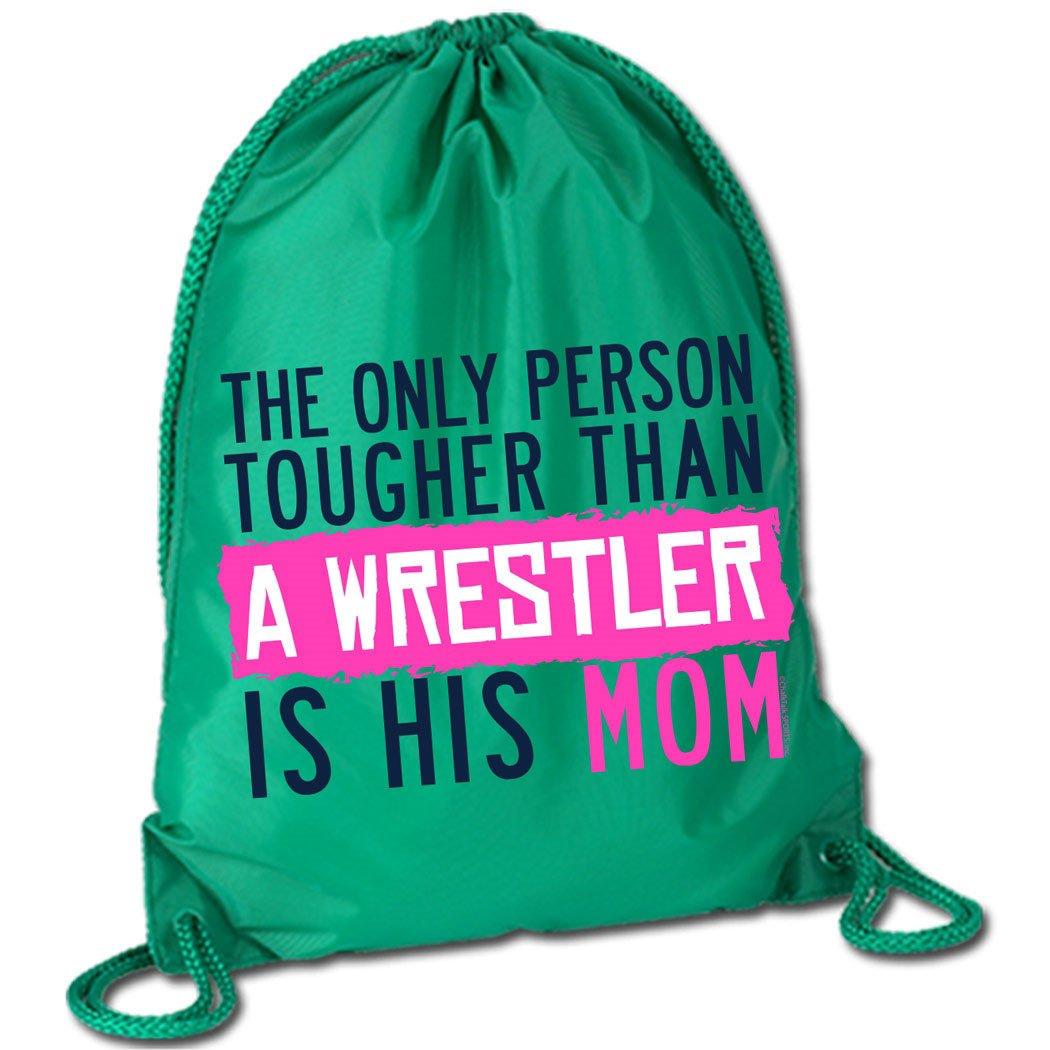 727d3d7472a5 60%OFF Tougher Than A Wrestler Mom Cinch Sack