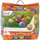 Ludi 90006 - 250 Balles de jeu - Sport