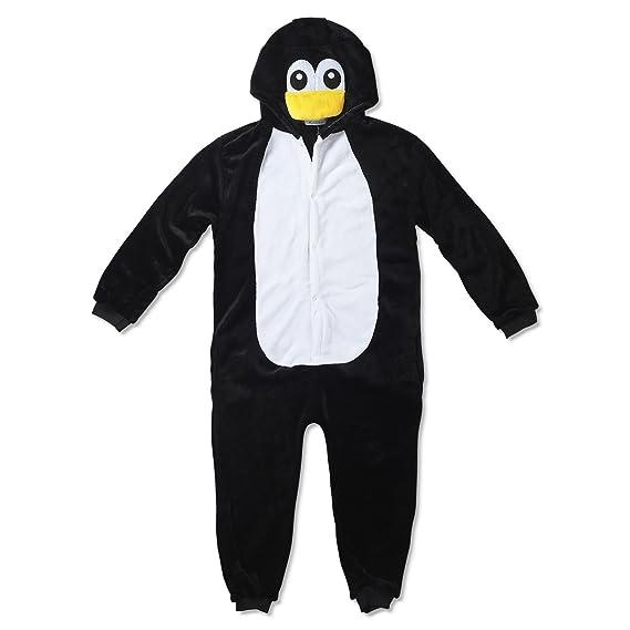 Katara- Kigurumi Pijama para Niños Traje Disfraz Animal, Color pingüino, 5-7 años (1830)