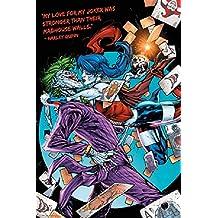 DC Comics Harley Quinn Joker Kiss 24x36 Poster