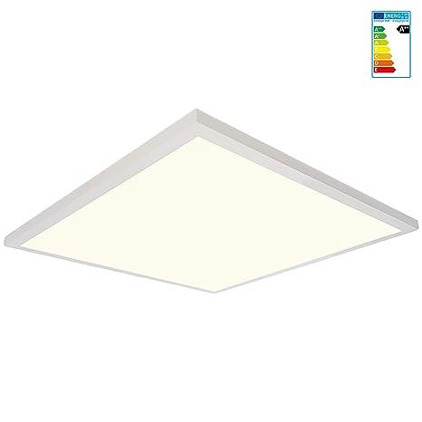 Jazava Led Deckenlampe Led Flach Blendfrei Led Panel Einbau Led Deckenpanel Wohnzimmer Lampe Deckenleuchte Flach Deckenstrahler 38w Quadratisch