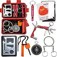 Survival Kit EMDMAK Outdoor Emergency Gear Kit for...