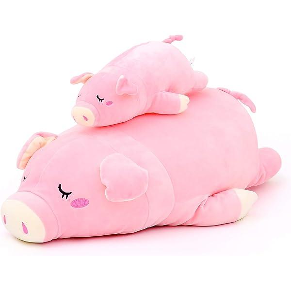 Awe Inspiring Amazon Com Lazada Pig Plush Pillow Stuffed Animal Plush Pet Inzonedesignstudio Interior Chair Design Inzonedesignstudiocom