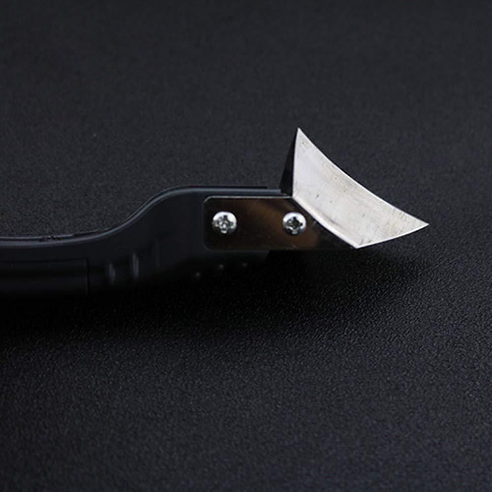 Spachtel F/ür Silikondichtungsmasse Spachtel Metallschaber Zement Caulk Removal Tool Muamaly Silikon-Fugenentferner-Und Spachtel-Satz
